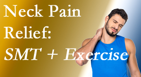 Pflugerville Wellness Center offers a pain-relieving treatment plan for neck pain that includes exercise and spinal manipulation with Cox Technic.