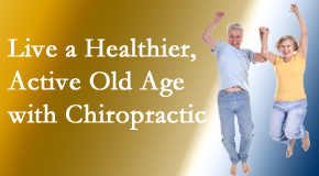 Pflugerville Wellness Center invites older patients to incorporate chiropractic into their healthcare plan for pain relief and life's fun.