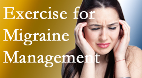 Pflugerville Wellness Center includes exercise into the chiropractic treatment plan for migraine relief.