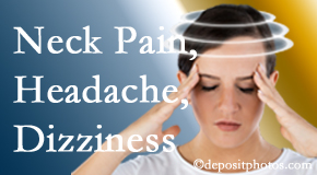 Pflugerville Wellness Center helps decrease neck pain and dizziness and related neck muscle issues.