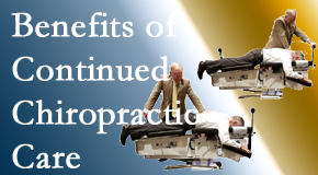 Pflugerville Wellness Center presents continued chiropractic care (aka maintenance care) as it is research-documented as effective.