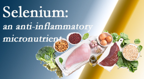 Pflugerville Wellness Center shares details about the micronutrient, selenium, and the detrimental effects of its deficiency like inflammation.