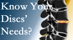 Your Pflugerville chiropractor knows all about spinal discs and what they need nutritionally. Do you?