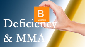 Pflugerville Wellness Center points out B vitamin deficiencies and MMA levels may affect the brain and nervous system functions.
