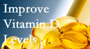 Pflugerville Wellness Center explains that it's beneficial to raise vitamin D levels.