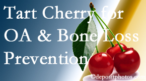 Pflugerville Wellness Center shares that tart cherries may enhance bone health and prevent osteoarthritis.