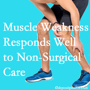 Pflugerville chiropractic non-surgical care manytimes improves muscle weakness in back and leg pain patients.