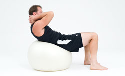 stability ball abs 2