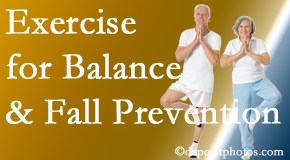 Pflugerville chiropractic care of balance for fall prevention involves stabilizing and proprioceptive exercise.