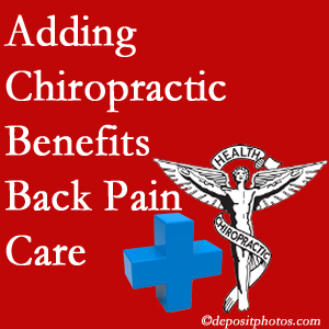 Added Pflugerville chiropractic to back pain care plans works for back pain sufferers.
