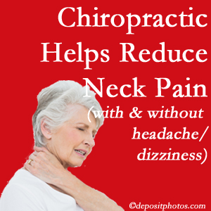 Pflugerville chiropractic treatment of neck pain even with headache and dizziness relieves pain at a reduced cost and increased effectiveness.
