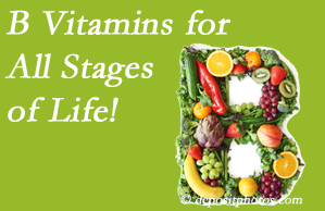 Pflugerville Wellness Center urges a check of your B vitamin status for overall health throughout life.