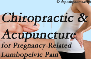 Pflugerville chiropractic and acupuncture may help pregnancy-related back pain and lumbopelvic pain.