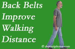 Pflugerville Wellness Center sees value in recommending back belts to back pain sufferers.