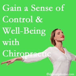 Using Pflugerville chiropractic care as one complementary health alternative improved patients sense of well-being and control of their health.