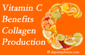 Pflugerville chiropractic shares tips on nutrition like vitamin C for boosting collagen production that decreases in musculoskeletal conditions.